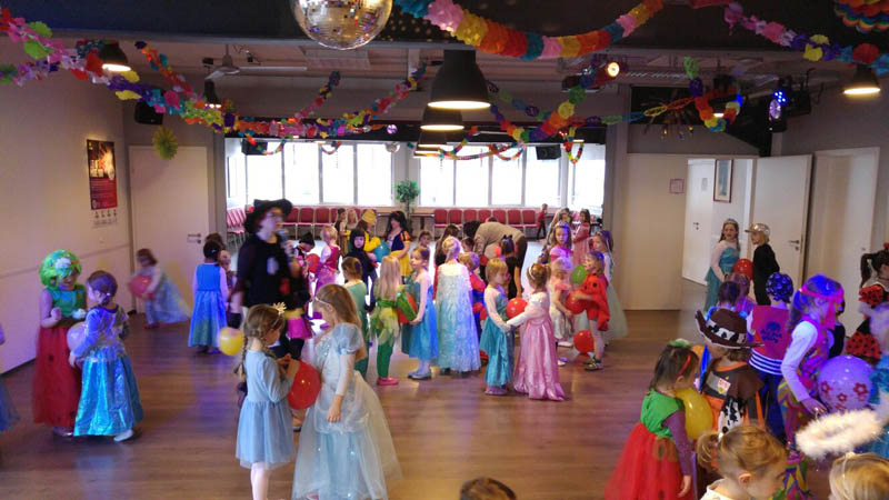 Kinder Faschingsparty 2.2.2016