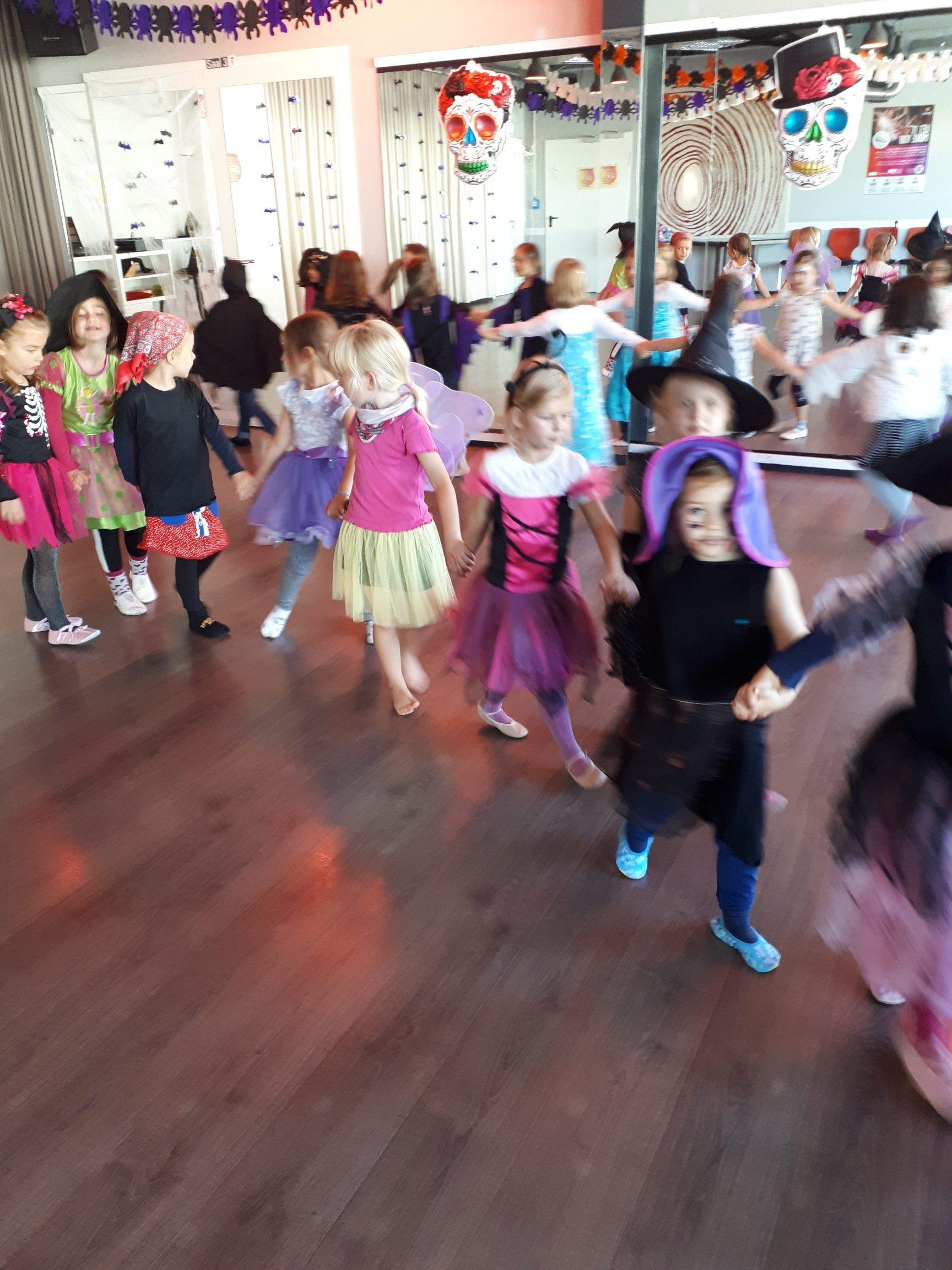 Halloweenparty Kindertanz 2019